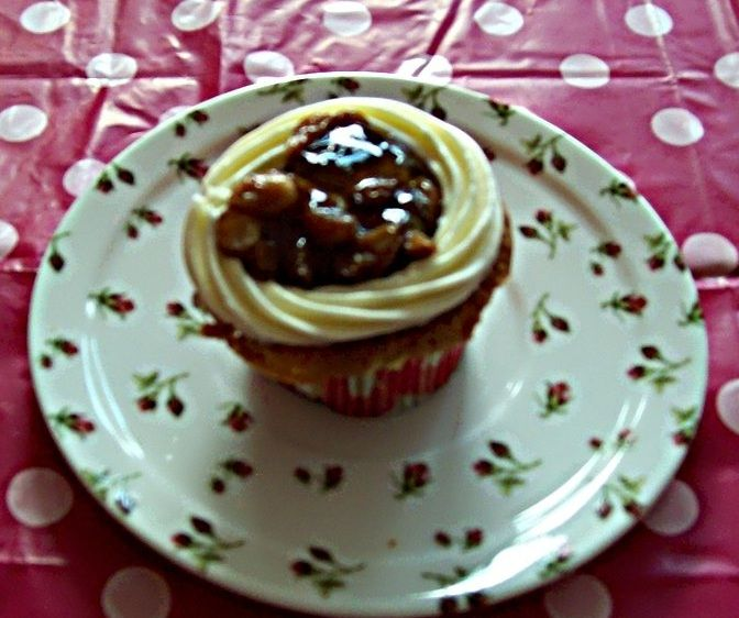 Cupcake met boerenjongens. Ook voor meisjes natuurlijk.