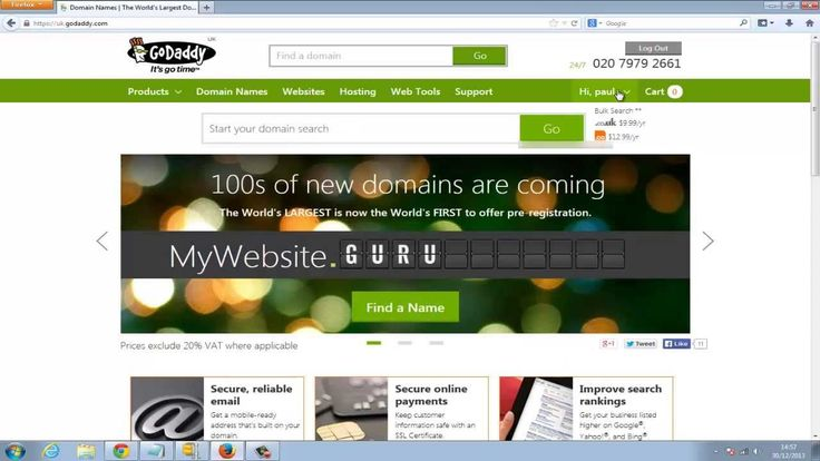How to point your domain from crazy domains to GoDaddy CPanel hosting