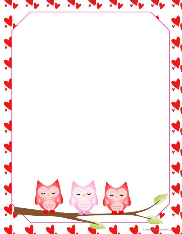 valentine clip art letter