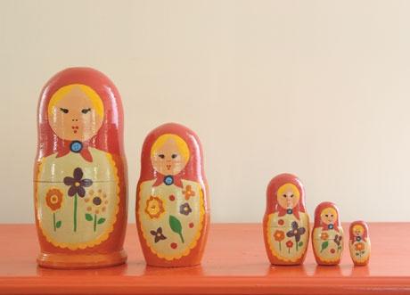 DIY russian dolls