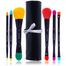 SHANY Double Sided Travel Make Up Brush Set with Pouch