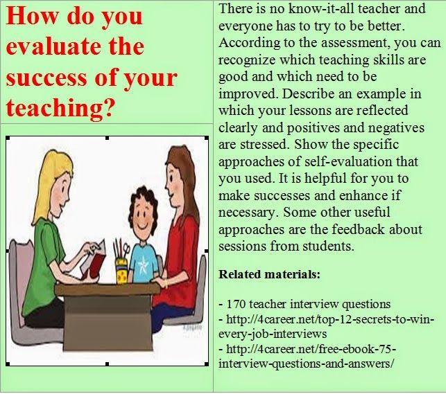 15 best images about Teacher interview questions on Pinterest