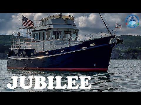 Trawler for Sale - Diesel Duck 382 - Jubilee Interior - Off Market - YouTube