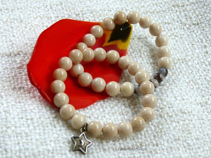Piedra de río #jewelry #handmade #gemstones #joyeria #hechoamano #artesania #piedras
