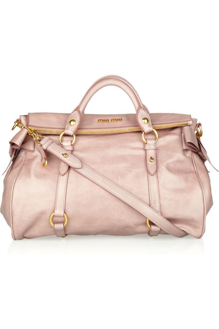 Miu Miu leather tote $1,595 #dreambag