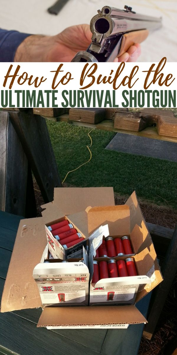 How to Build the Ultimate Survival Shotgun — Having items for survival at hand in any situation is obviously the ideal situation. What people don't know is that you can place a lot of the 5 main categories, Water, Fire, Shelter, Signaling and Food in some of the weirdest places you can think of.