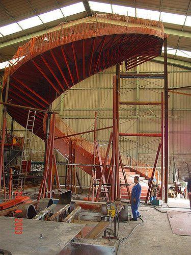Steel stairs - Recinto ferial BEC