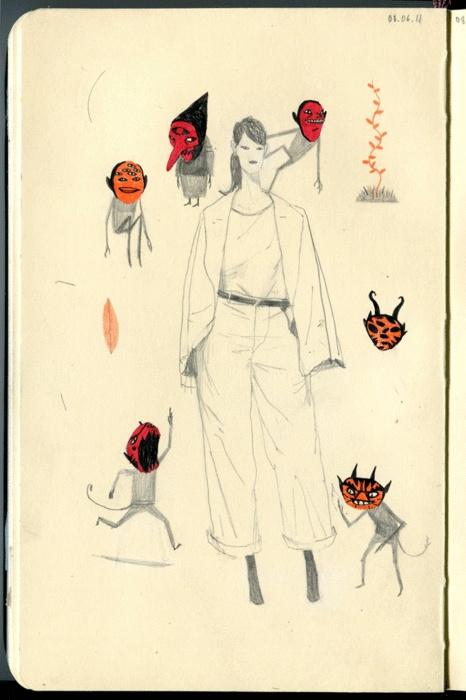 """fashion illustration"""