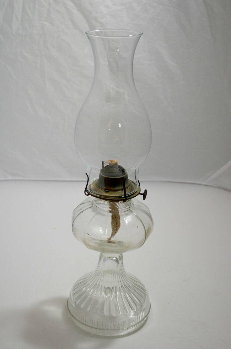 Фотографии керосиновых ламп в форме фужера