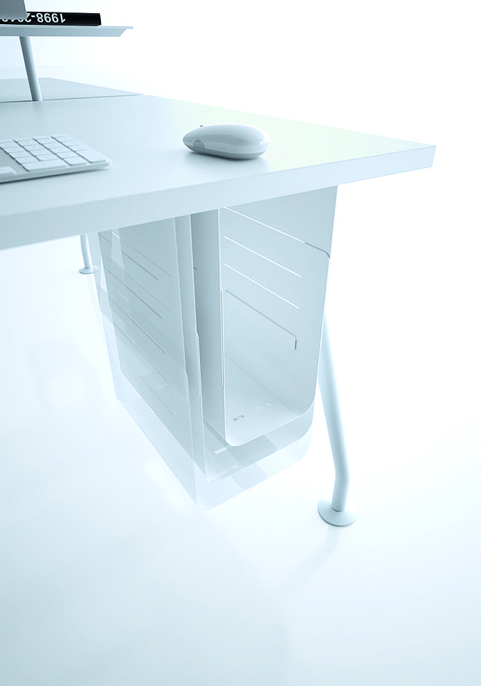 Adjustable CPU holder