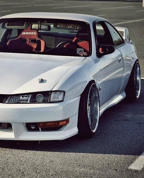 Nissan Silvia..., s14, slammed, stance, fitment, flush, hella flush jdm importsweetheart jdmgirls Más