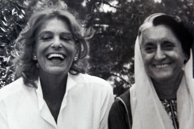 Με την Ιντιρα Γκάντι