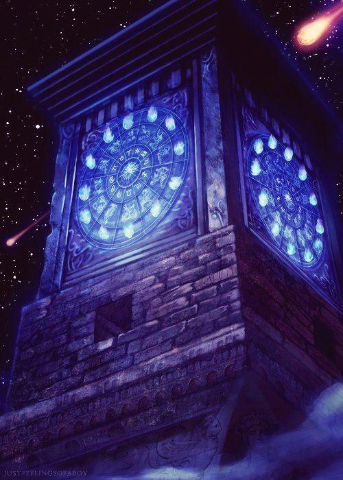 L'horloge sacré des 12 chevaliers d'or