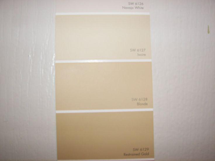 Sherwin Williams Blonde Paint Strip As Sw Blonde Beige