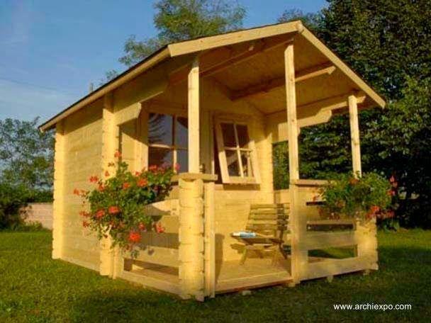 Arquitectura de casas 16 modelos de casitas de madera for Casas de madera para el jardin