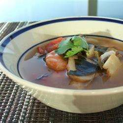 Thai Prawn Soup (Tom Yum Goong)