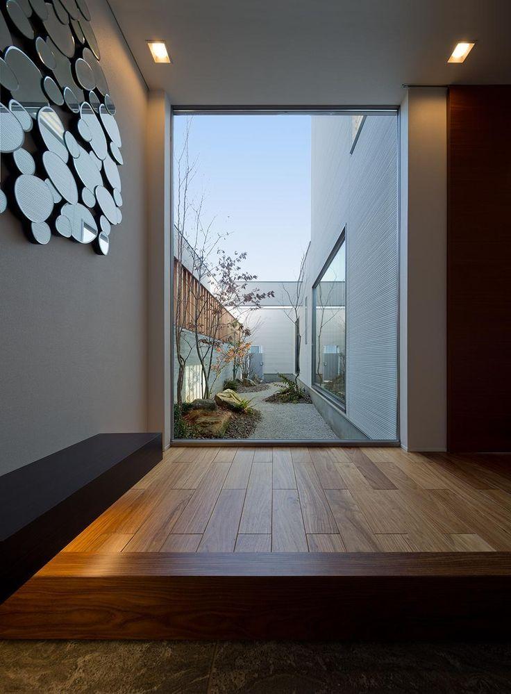 玄関事例:玄関(N8-house「Ⅲ-BOXの家」)