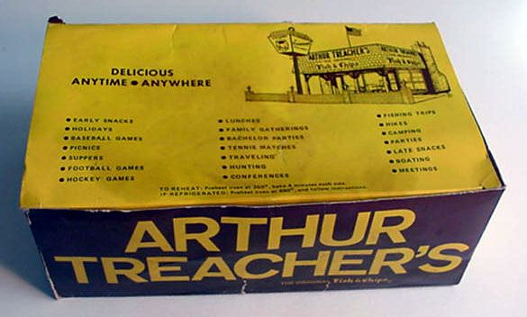 Arthur Treacher's Fish & Chips - 1970's.  there was one a few blocks away from our house for years, and nobody seemed to ever be in there.