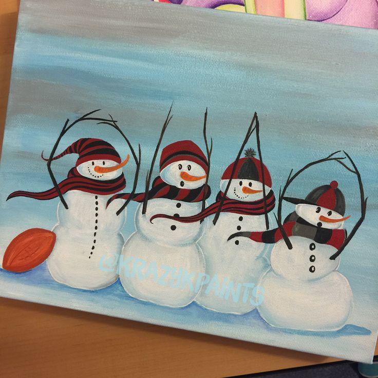 SnO-hi-O Ohio State snowmen