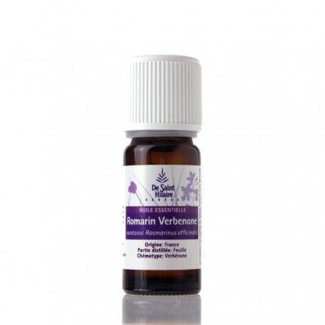L'huile essentielle biologique de Romarin Verbénone est recommandée en cas d'insuffisance hépatique et biliaire.
