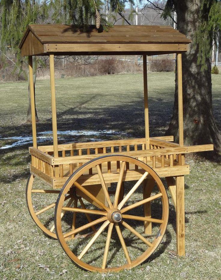 Western Rustic ServingVending Cart. Etsy in 2020