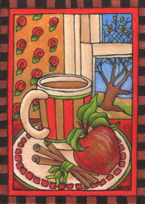 Искусство: Горячий яблочный сидр (проданного) Художник Shelly Bedsaul