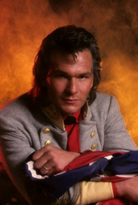 Patrick Swayze in North And South. Book 1 & 2.