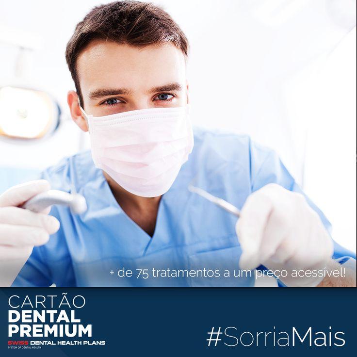 """#SORRIAMAIS com o Cartão Dental Premium: """"+ de 75 tratamentos a um preço acessível!"""" ----- SAIBA TUDO EM http://cartaodentalpremium.com/#comoaderir > 800 CAR TAO / 800 227 826 #SwissDentalHealthPlans #CartãoDentalPremium #CartãoDeSaúde #Clínica #Implantes #Dentista"""