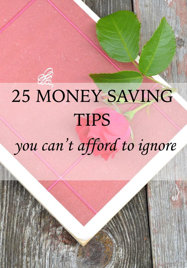 Today, I want to share 25 money saving tips you can't afford to ignore! When it comes to gaining financial independence, we often expect earning more money is the only (or main) solution. But, usually there is no point in earning more if that cash dwindles by the end of the week because we didn't spend and save wisely. These money saving tips are simple but they have saved me hundreds of dollars a month.