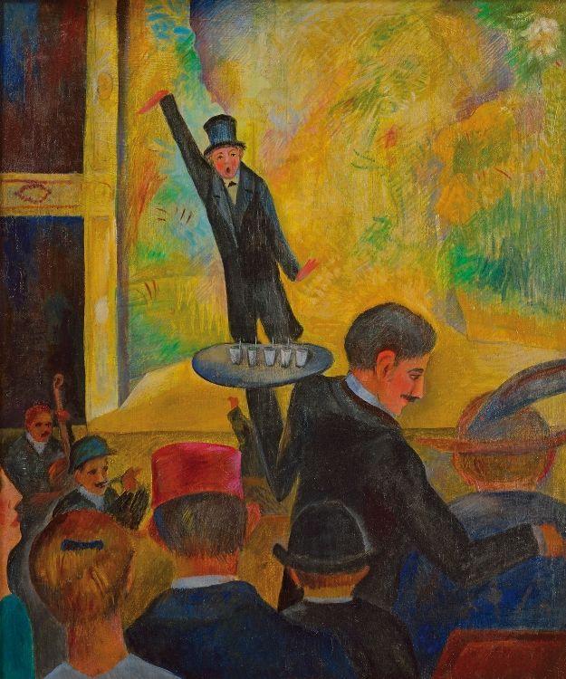 Otakar Kubín: Music Hall Bobino / 1910