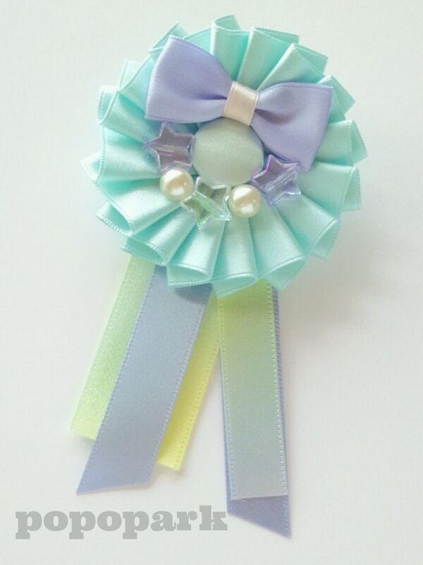 minne(ミンネ)| ロゼット【pearl ribbon】
