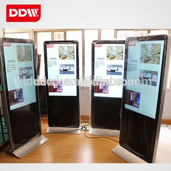65 inch floor standing digital signage, android media player