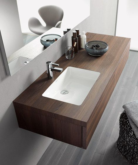 Vanity units | Wash basins | Delos Console including drawer. Check it out on Architonic
