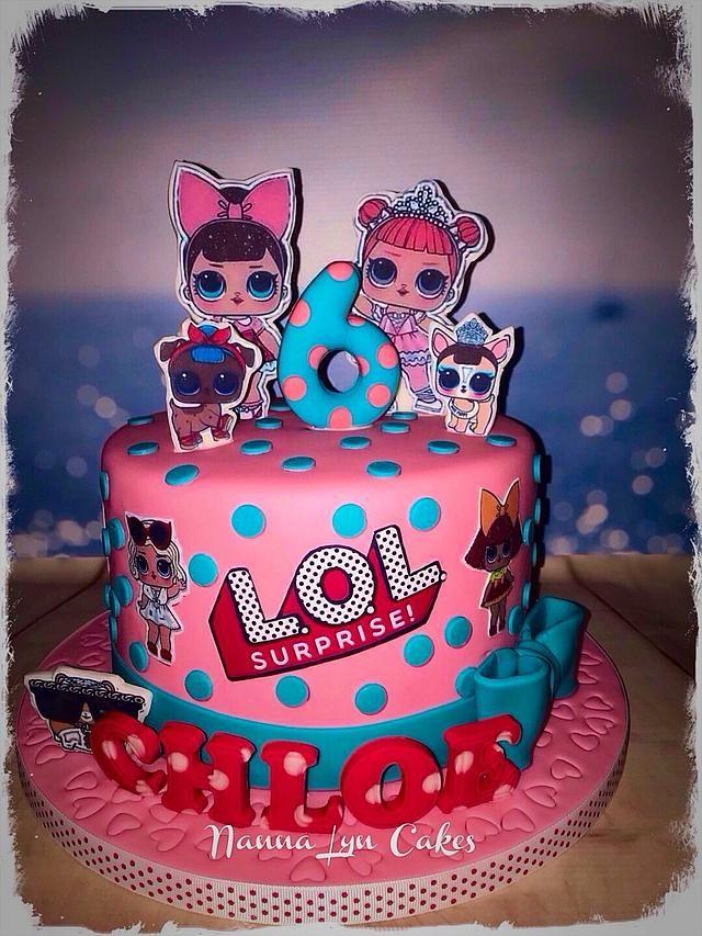 L O L Birthday Cake By Nanna Lyn Cakes Kids Birthday Party Food Cake Birthday Cake