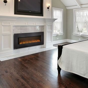 Wall Mount Electric Fireplaces And Fireplaces On Pinterest