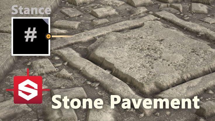 Stone Pavement - Substance Designer Material Breakdown