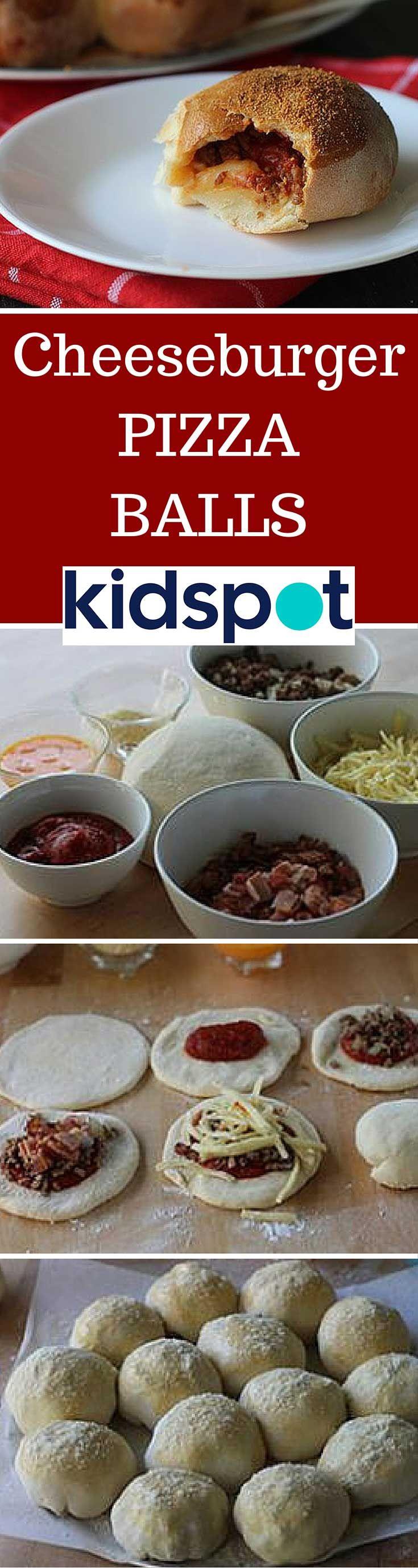 1915 best kidspot dinner inspirations images on pinterest bacon cheeseburger pizza balls kidspot recipeskid forumfinder Gallery