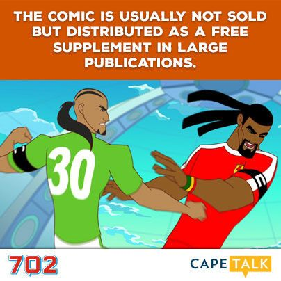 X-Men, Superman, Spiderman…  They all pale in comparison to world's biggest monthly comic book, SA's very own Supa Strikas.