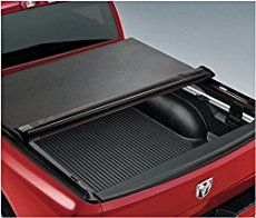 TYGER Rowlock truck bed cover is mounted inside the bed rails with a sleek look and offering access to the stake holes for mounting any accessories like ladder