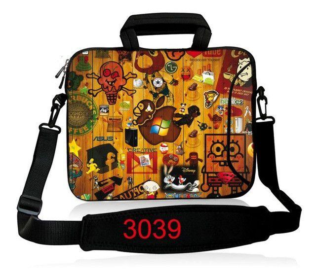 Neoprene Laptop Sleeve 15.6 Computer Messenger Bag 10 11.6 13.3 14 15.4 17.3 inch Shoulder Laptop Bag Handle PC Protective Case