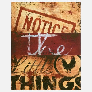 Notice The Little Things, $34, now featured on Fab.
