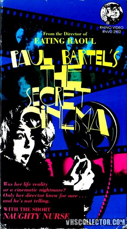 "Paul Bartel's 1968 Short ""The Secret Cinema"""