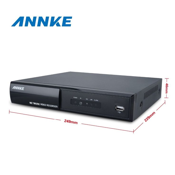 197.79$  Watch more here - http://ai7xv.worlditems.win/all/product.php?id=32791313152 - Annke 8CH Full 1080P POE NVR IP Network  PoE Video Record 8 Channel CCTV Surveillance NVR in CCTV Security System