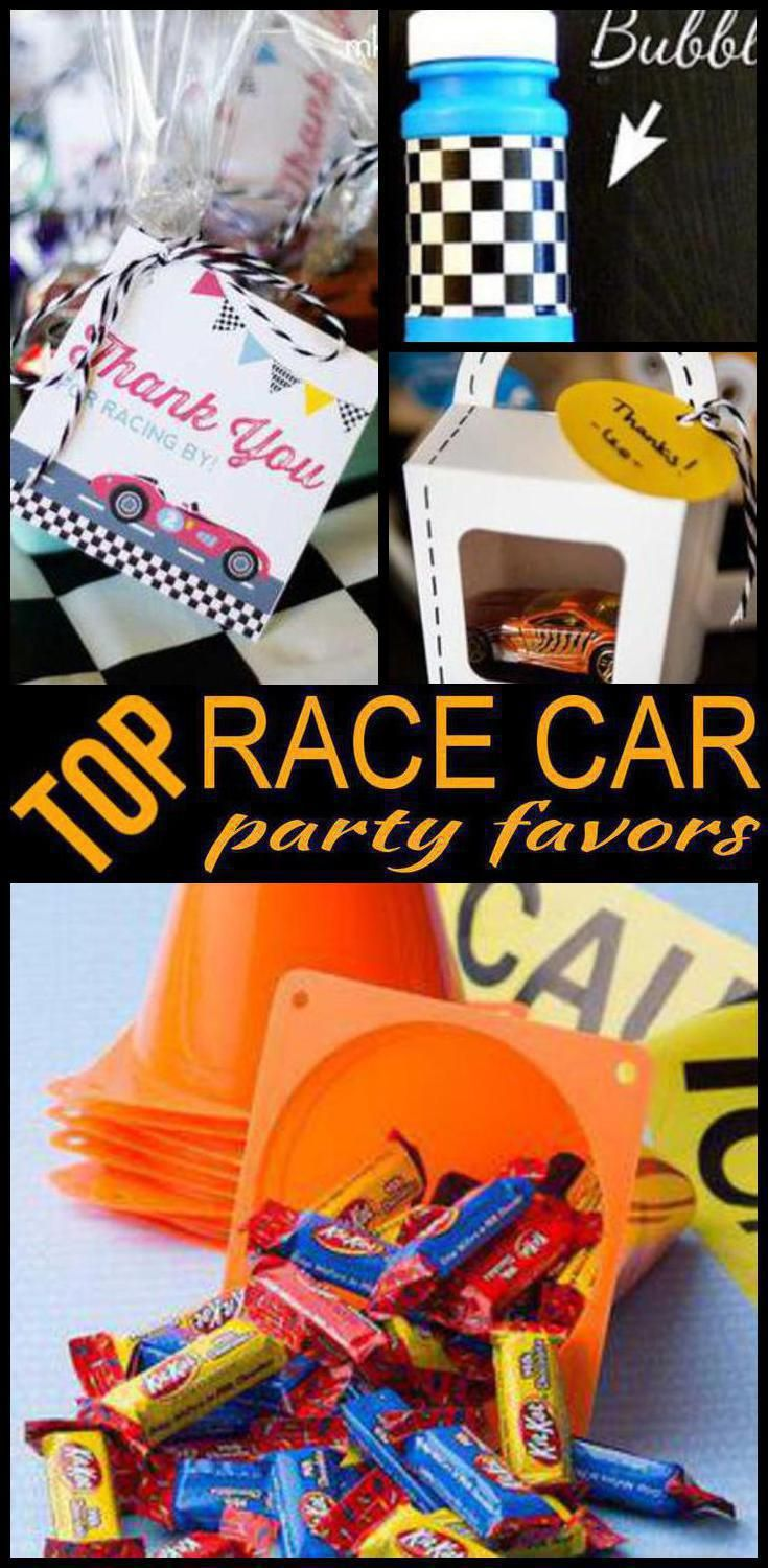 Best Race Car Party Favors Kids Will Love Best Kids Birthday Party