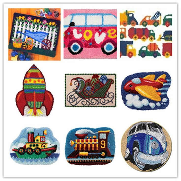 home plans USA shipping Latch Hook Kit Rug Cushion Pillow Mat DIY Craft Car Cross Stitch Needlework Crocheting Rug Embroidery * AliExpress Affiliate's buyable pin. View the item in details on www.aliexpress.com by clicking the VISIT button #Rugs