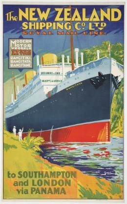 New Zealand Shipping Company Ltd for Sale - New Zealand Art Prints