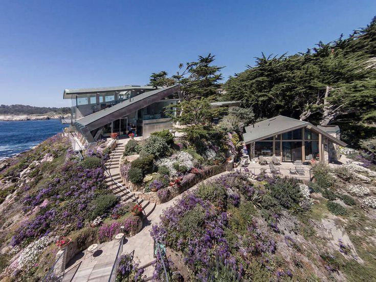 Terraced Ocean View Home Overlooking California's Coast…