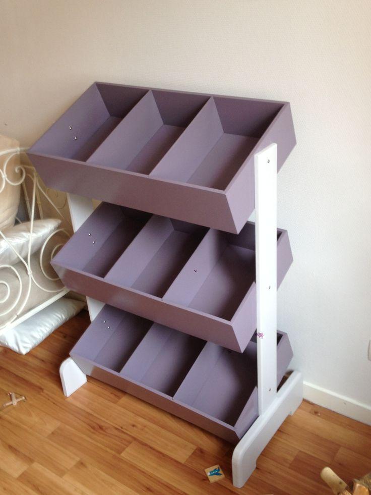 Meuble de rangement - DIY Idéal pour chambre d'enfants.