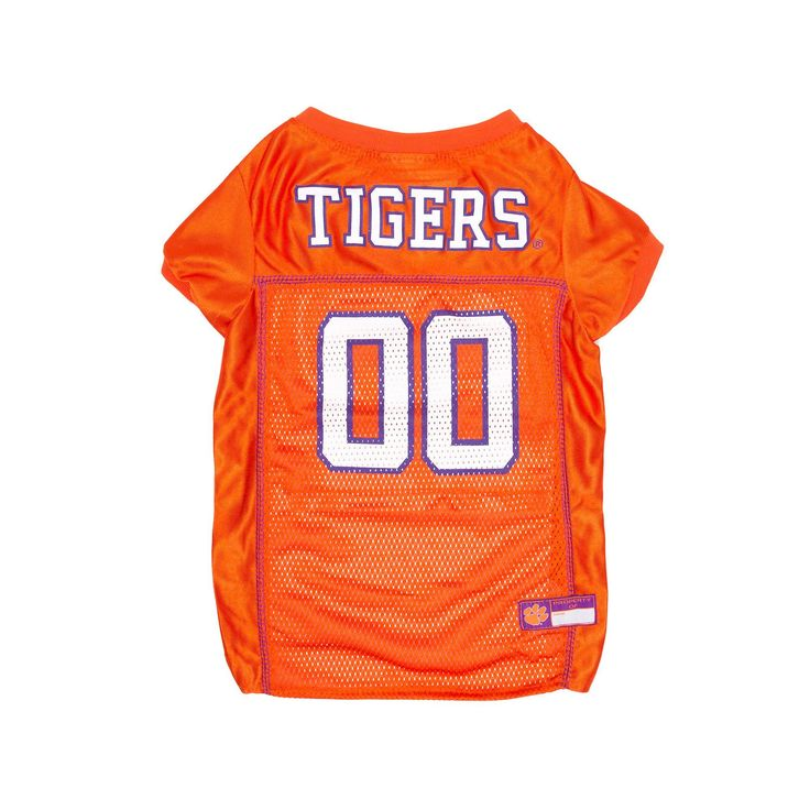 Clemson Tigers Mesh Pet Jersey, Multicolor