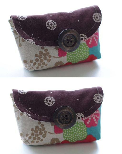 This clutch is so cute!  Free patternSchools Bags, Free Pattern, Clutches Tutorials, Bags Pursetutori, Caroline Clutches, Clutches Bags, Clutches Pattern, Clutch Bags, Adorable Gift